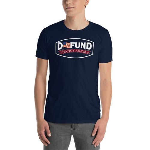 Defund Nancy Pelosi Short-Sleeve Unisex T-Shirt