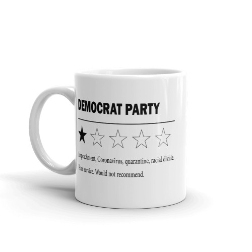 Democrat Party Review Mug