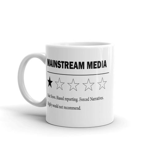 Mainstream Media Review Mug