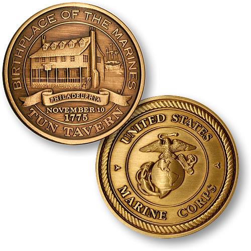U.S. Marines Tun Tavern Challenge Coin