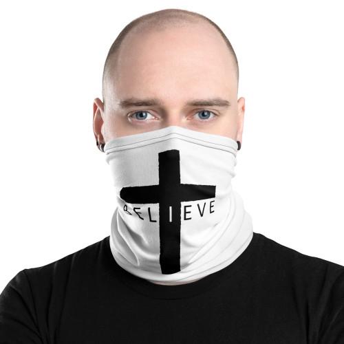 Believe (Cross) Neck Gaiter