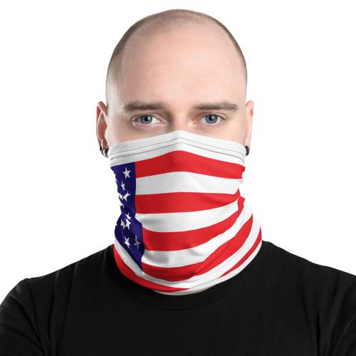US Flag Neck Gaiter