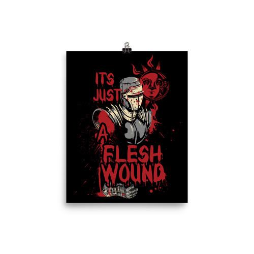 Flesh Wound Poster