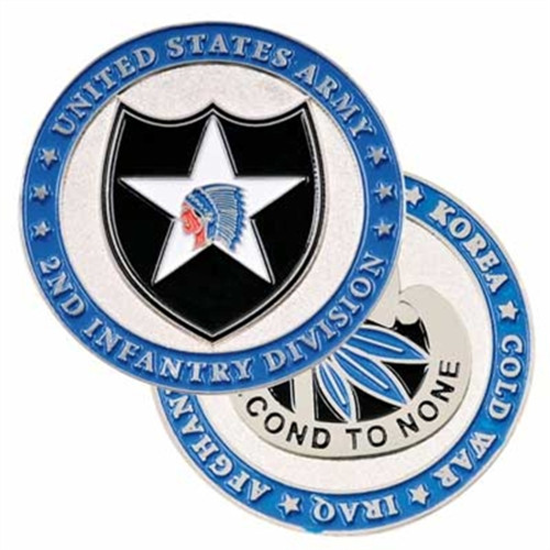 2nd Infantry Division Challenge Coin
