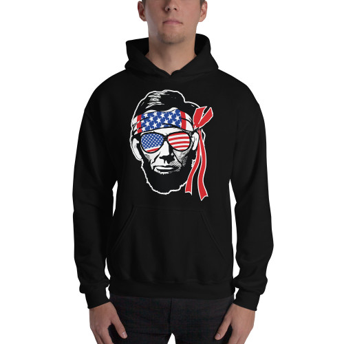 Abe Lincoln Unisex Hoodie