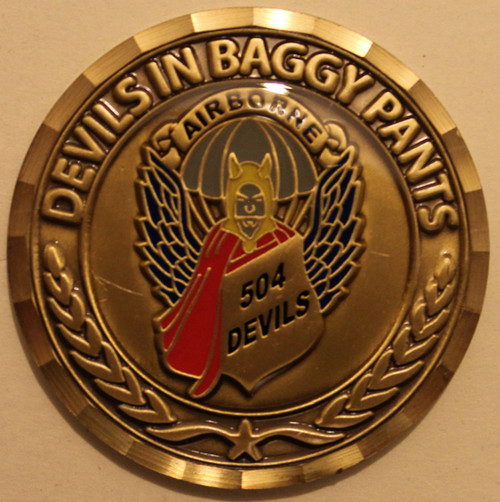 504th PIR Association Challenge Coin