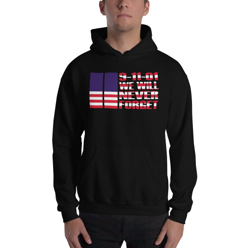 9-11 We Will Never Forget (September 11) Unisex Hoodie