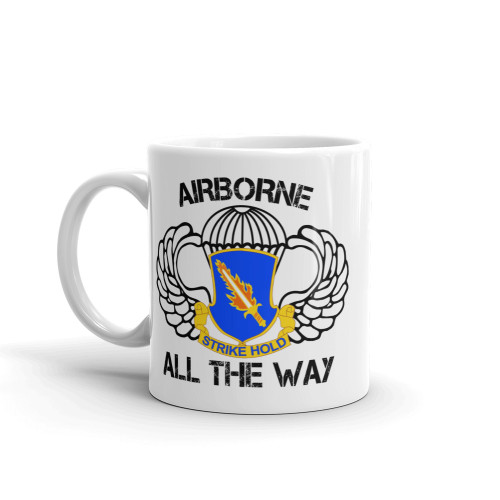 504 Airborne All the Way Mug