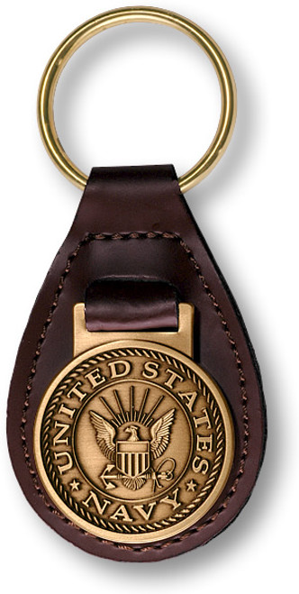 Navy Key Fob