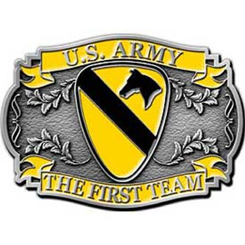 1st Cavalry Division Buckle