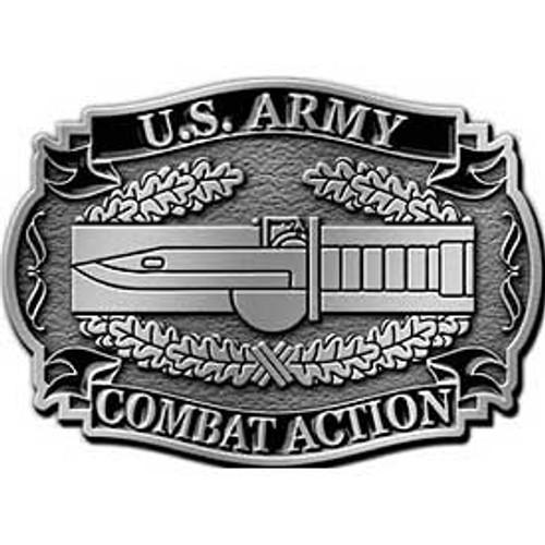 Combat Action Badge Buckle