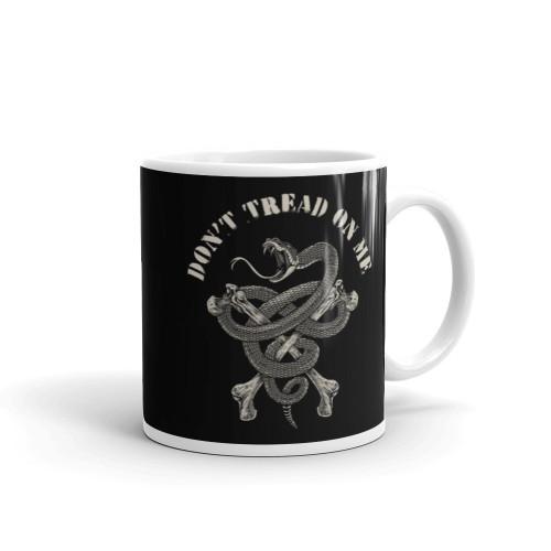 Don't Tread On Me (Crossbones) Mug