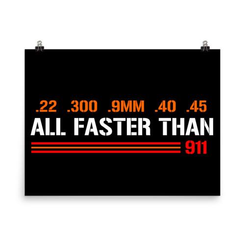 All Faster Than 911 Poster