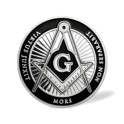 Freemason Challenge Coin