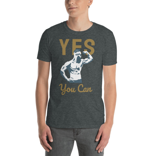 Yes You Can (Lift) Short-Sleeve Unisex T-Shirt