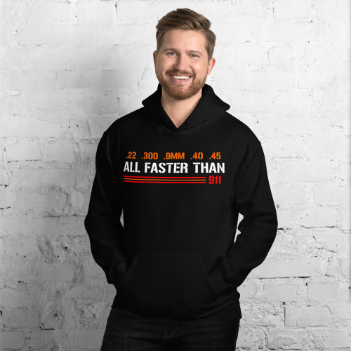 All Faster Than 911 Unisex Hoodie