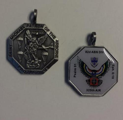 325th AIR, 82nd Airborne Division St Michael Medallion