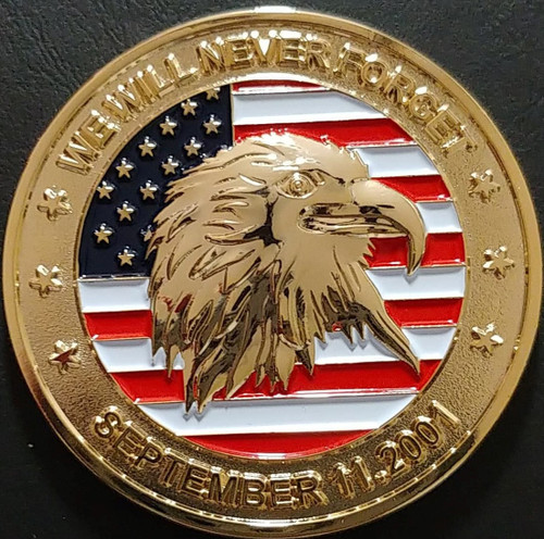 September 11th '20 Year Anniversary' Challenge Coin (Limited & Numbered)