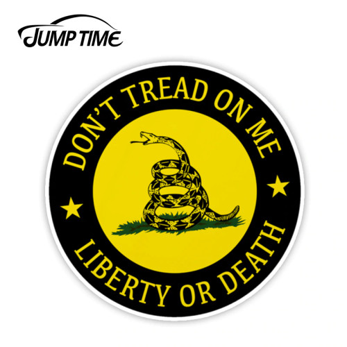 Don't Tread On Me, Liberty or Death  Decal