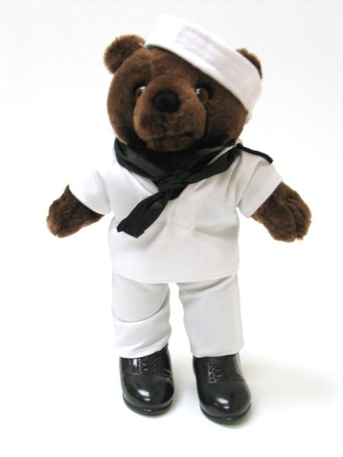 Navy White Jumper - Mini Bear