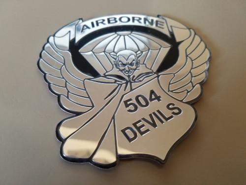 504 PIR  Auto Emblem