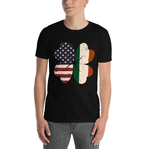 Irish American  (Saint Patrick's Day) Short-Sleeve Unisex T-Shirt