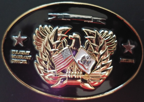 Army Warant Officer Buckle