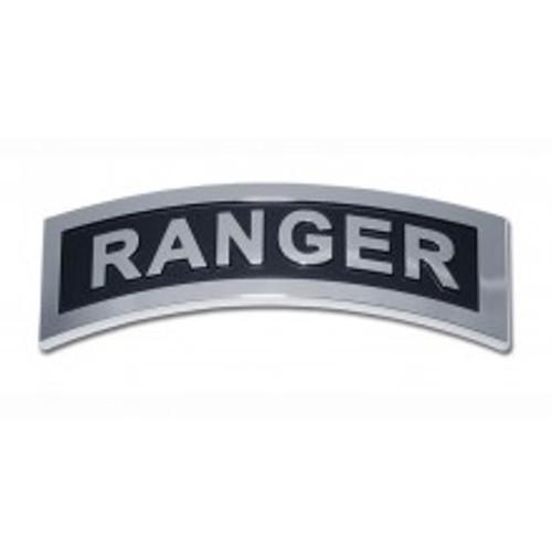 Army Chrome Auto Emblem (Ranger)