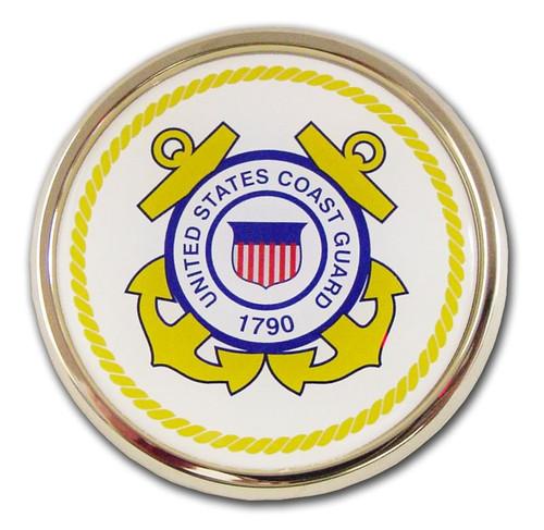 Coast Guard (White & Yellow Seal) Emblem