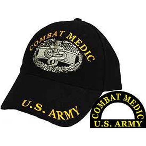 US Army COMBAT MEDIC Baseball Cap