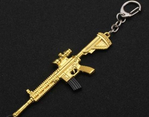 AR15 (Gold) Key Chain