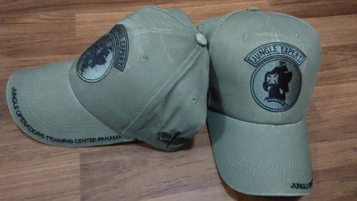 US Army Jungle Operations Training Center (JOTC) Panama Baseball Cap