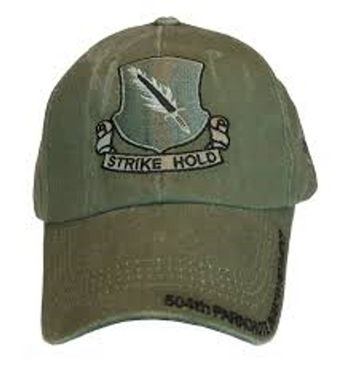 US Army 504th Parachute Infantry Regiment Baseball Cap