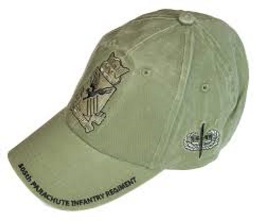 US Army 505th Parachute Infantry Regiment Baseball Cap