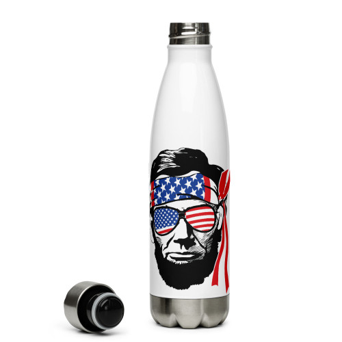 Lincoln USA Stainless Steel Water Bottle