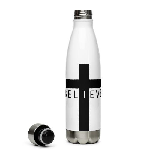 I Believe Stainless Steel Water Bottle