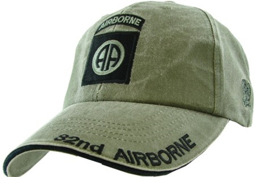 82ND AIRBORNE (OD GREEN) Baseball Cap