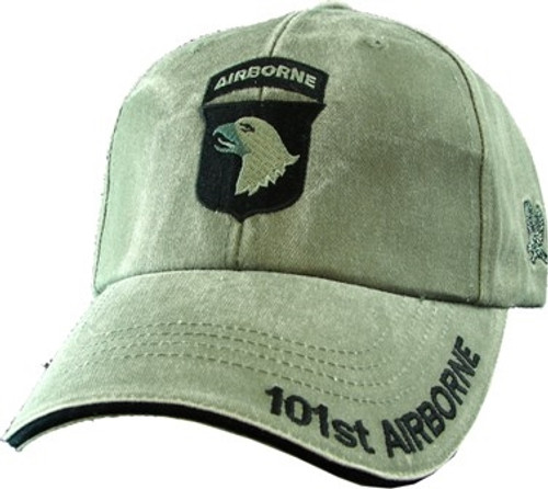 101ST AIRBORNE (OD GREEN) Baseball Cap