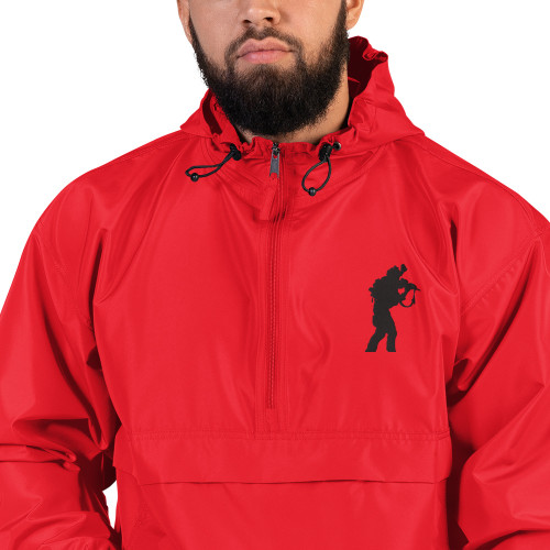 Warrior Embroidered Champion Packable Jacket