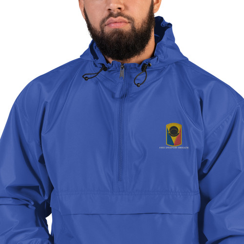 53rd Infantry Brigade Embroidered Champion Packable Jacket