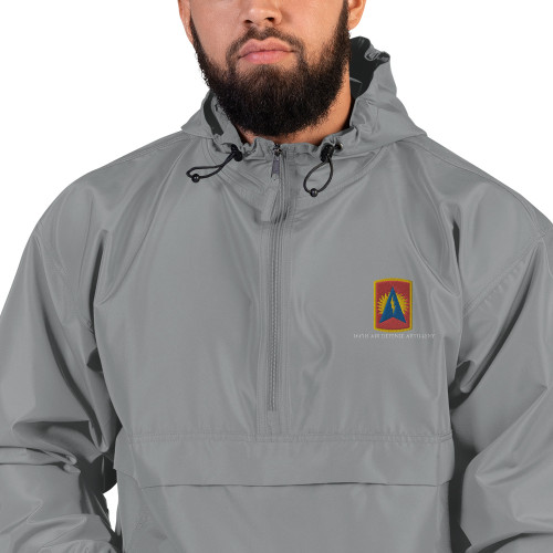 164th Air Defense Artillery Embroidered Champion Packable Jacket