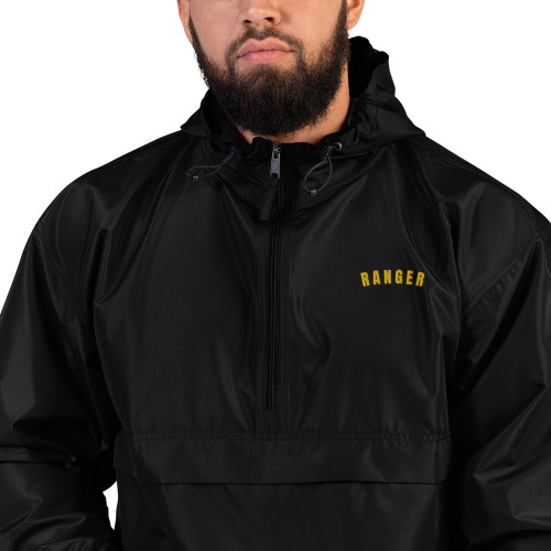 Ranger Embroidered Champion Packable Jacket