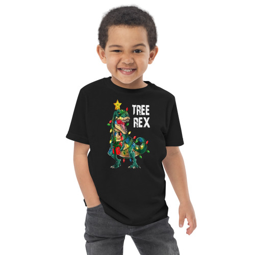 Tree Rex Toddler jersey t-shirt