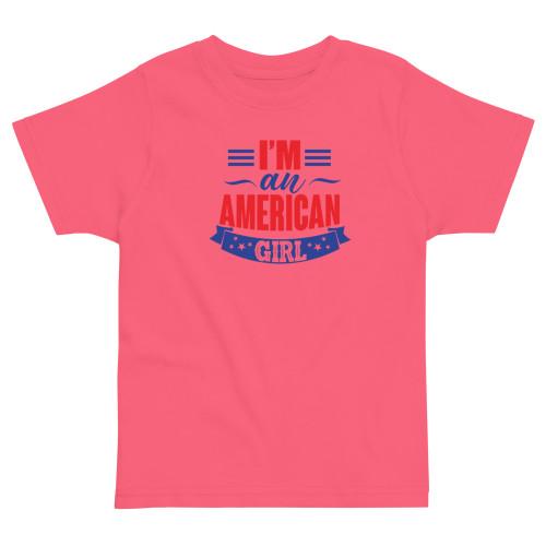 I'm an American Girl Toddler jersey t-shirt