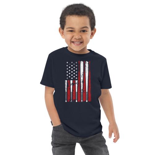 Baseball (USA) Toddler jersey t-shirt