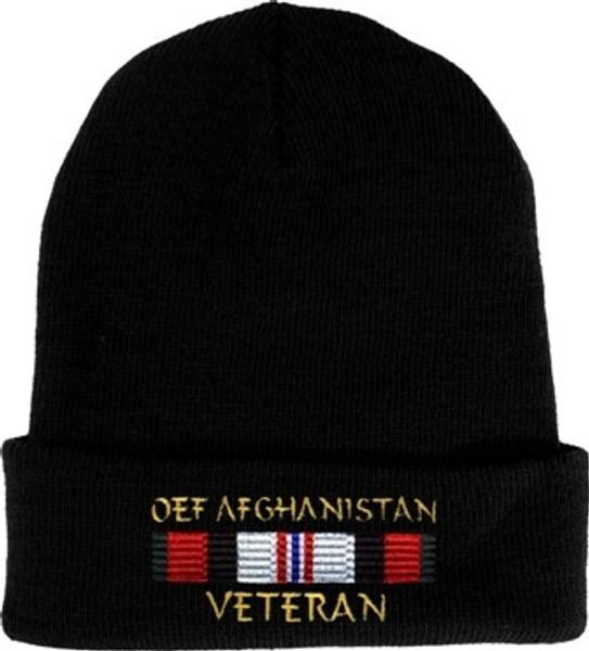 OEF Afghanistan Veteran Watch Cap