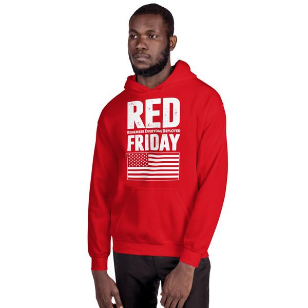 RED Friday Unisex Hoodie