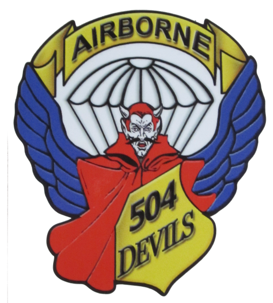 504th Devils Decal