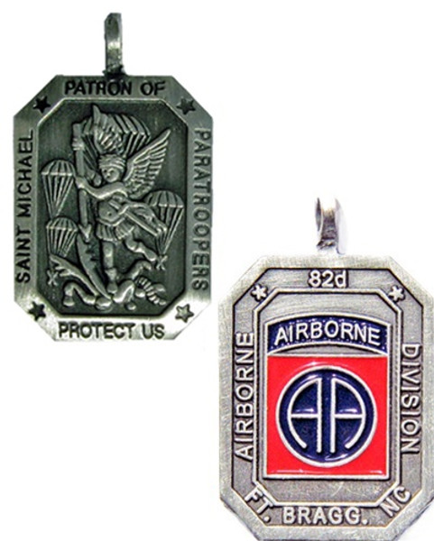 Saint Michael Patron of Paratroopers Medal- 82ND AIRBORNE DIVISION