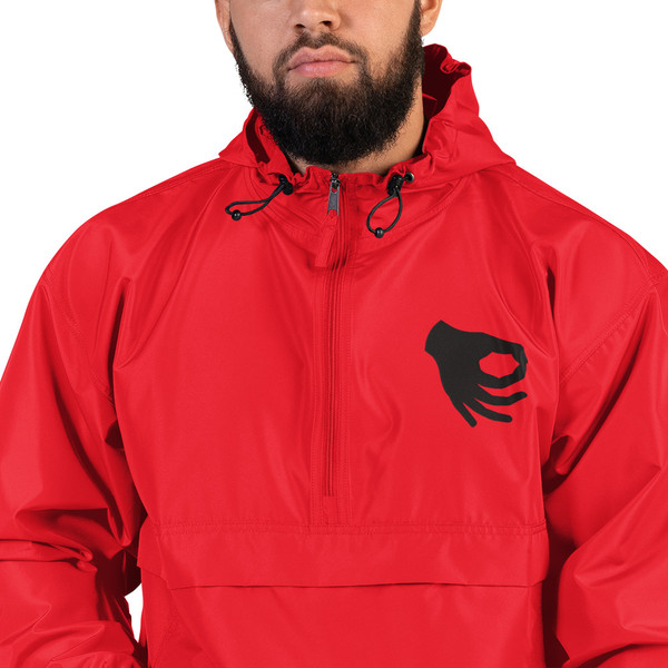 Circle Game Embroidered Champion Packable Jacket